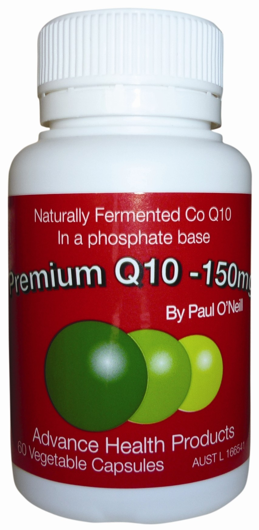 150mg Co-Enzyme Q10 (60 Caps)